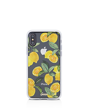 Sonix Lemon Zest Iphone X Case In Lemon Zest Multi