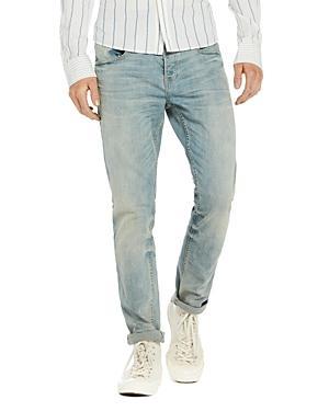 Scotch & Soda Skim Plus Slim Fit Jeans In Blue Gold
