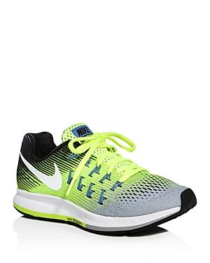 Nike Women's Air Zoom Pegasus Lace Up Sneakers In Matte Silver/white