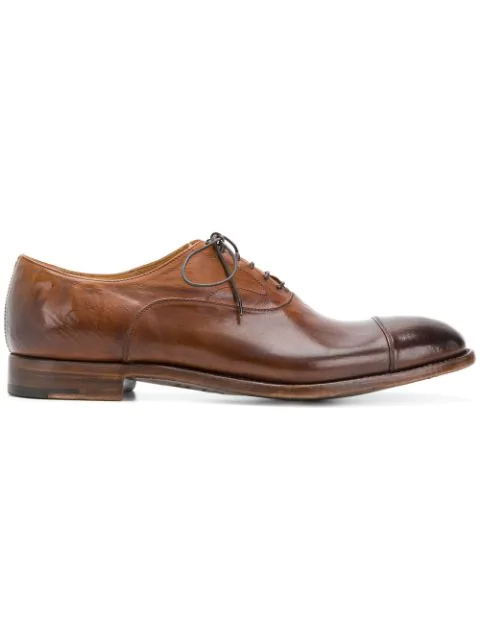 Alberto Fasciani Lace-up Oxford Shoes - Brown