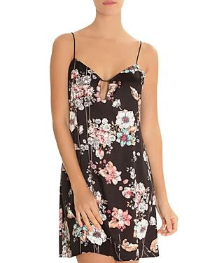 Midnight Bakery Floral Chemise In Rumi Print