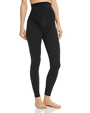 Beyond Yoga Maternity Leggings In Jet Black