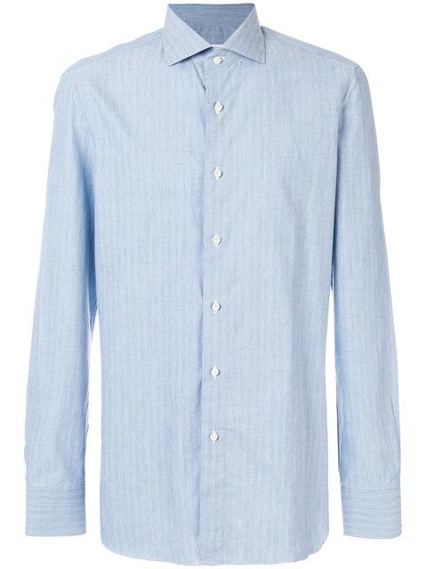 Boglioli Classic Long-sleeve Shirt - Blue