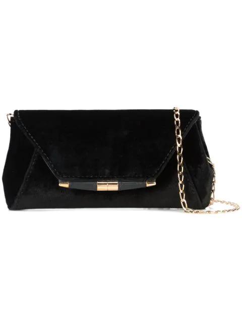 Tyler Ellis Envelope Style Clutch Bag - Black