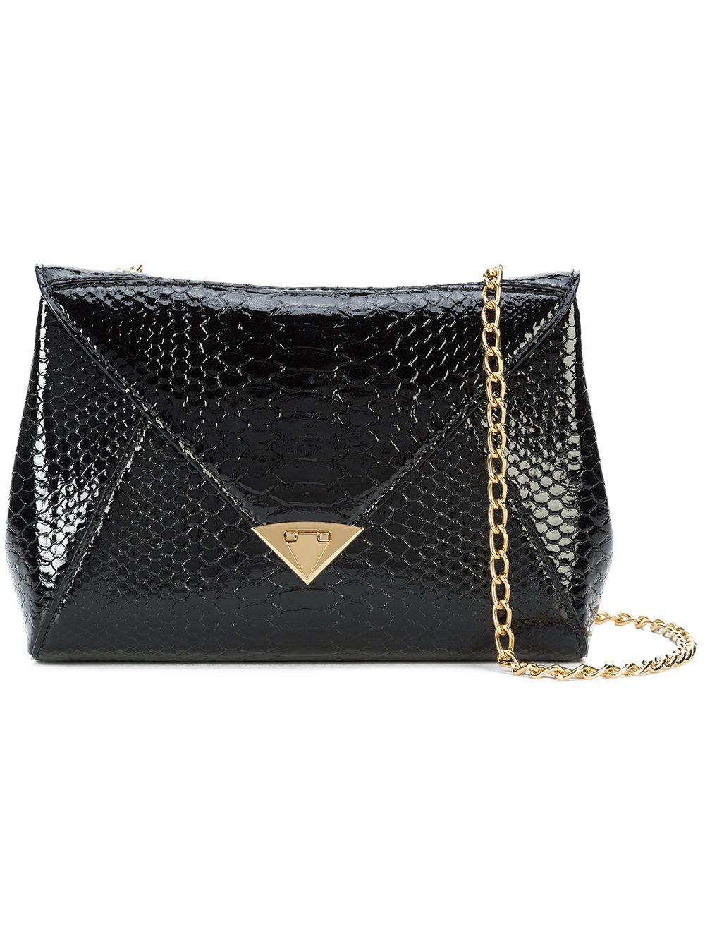 Tyler Ellis Envelope Style Shoulder Bag - Black