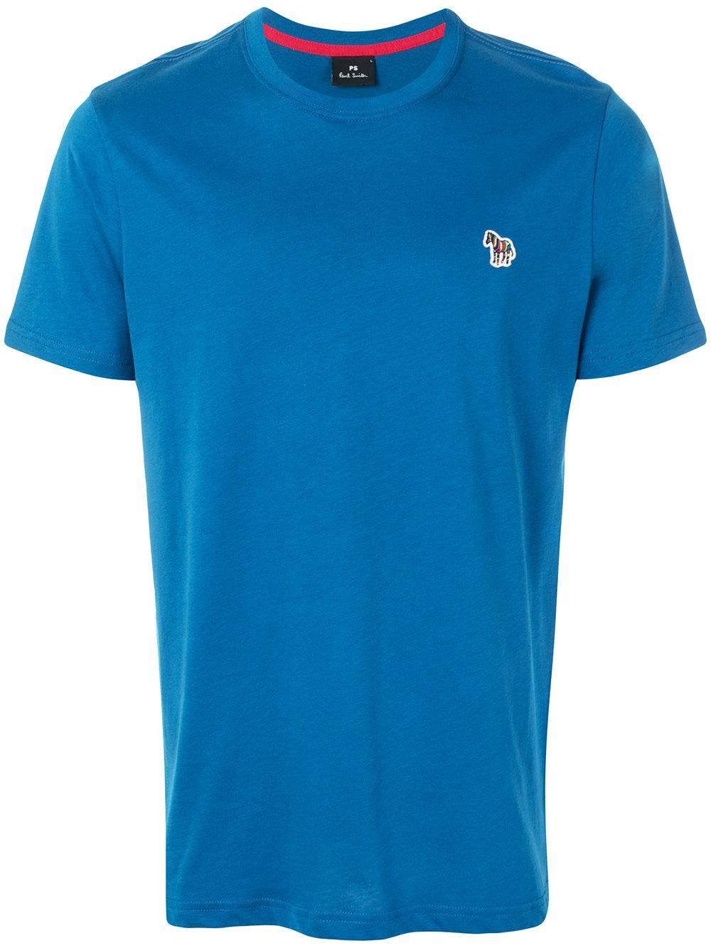 Ps By Paul Smith Embroidered Logo T-shirt
