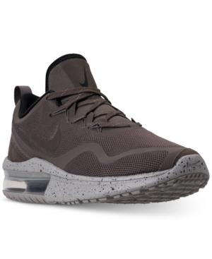 Nike Men's Air Max Fury Reflective Running Sneakers From Finish Line In Ridgerock/ridgerock-cobbl