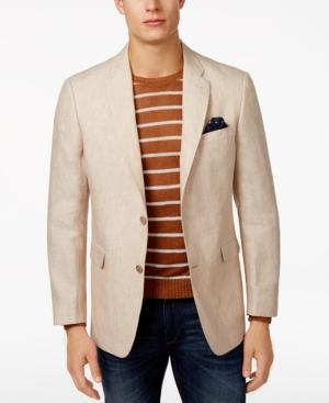 Tommy Hilfiger Men's Classic-fit Light Tan Sport Coat