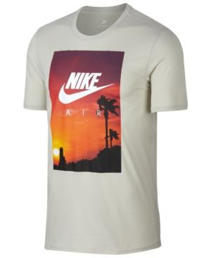 Nike Sportswear Men's Photo Graphic T-shirt In Light Bone/white