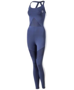 Puma Archive T7 Jumpsuit In Blue