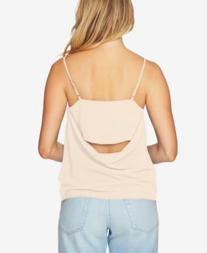 1.state Draped-back Tank Top In Golden Apricot