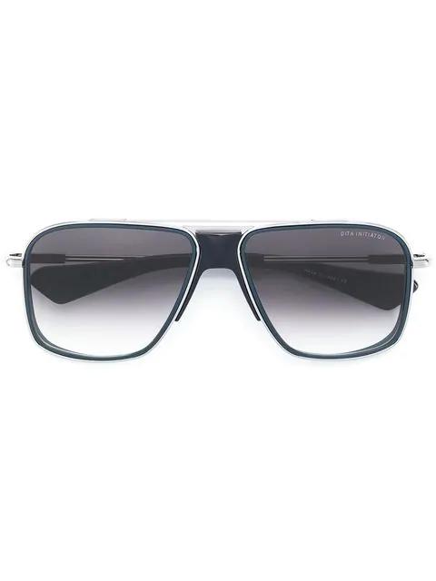 Dita Eyewear Initiator Sunglasses In Black