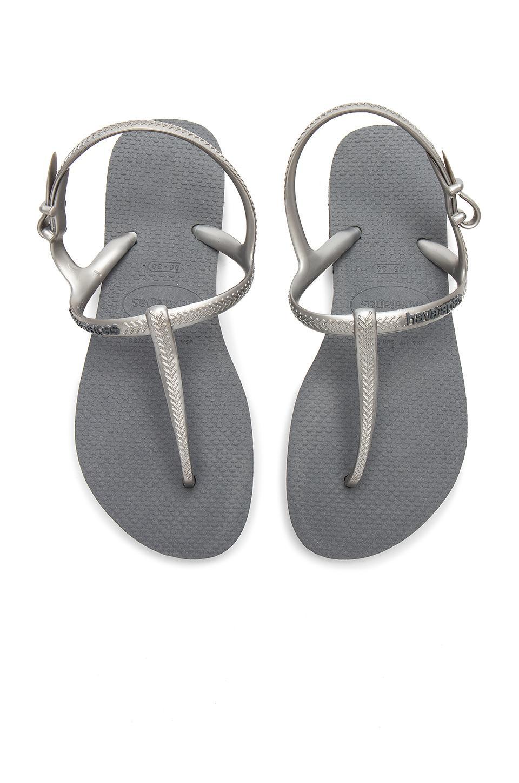 Havaianas Freedom Slim Sandal In Gray
