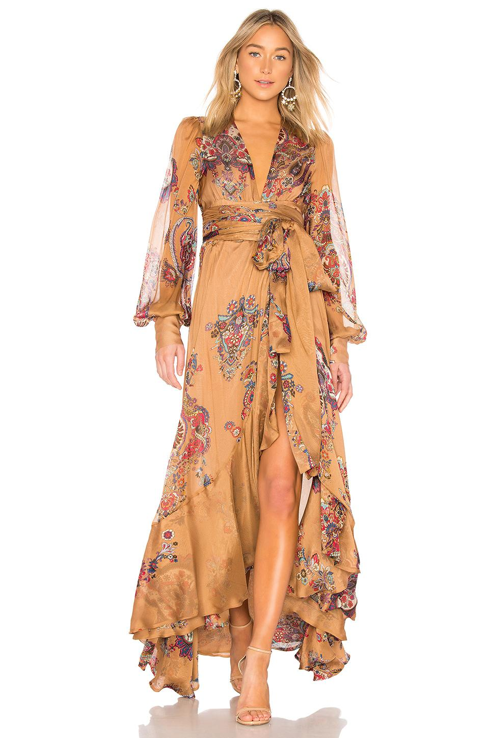 Oud Soho Dress In Tan