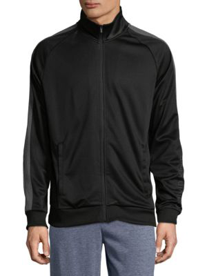 Calvin Klein Men's Full-zip Wool Bomber Jacket In Asphalt