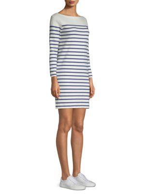 Nevis Light Navy Dress Striped Shirt In Cotton T 8wOnm0vN