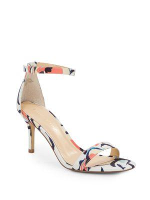 Ivanka Trump Printed Sandals In Multi
