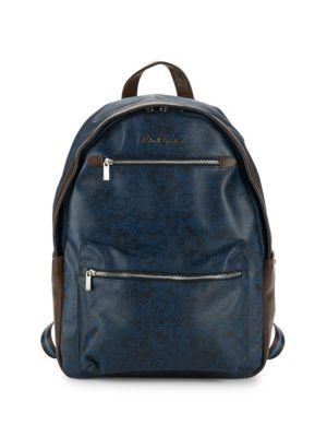 Robert Graham North Argyle Paisley Backpack In Blue