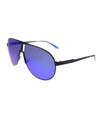 Carrera New Panamerika Idk 64mm Matte Blue Aviator Sunglasses
