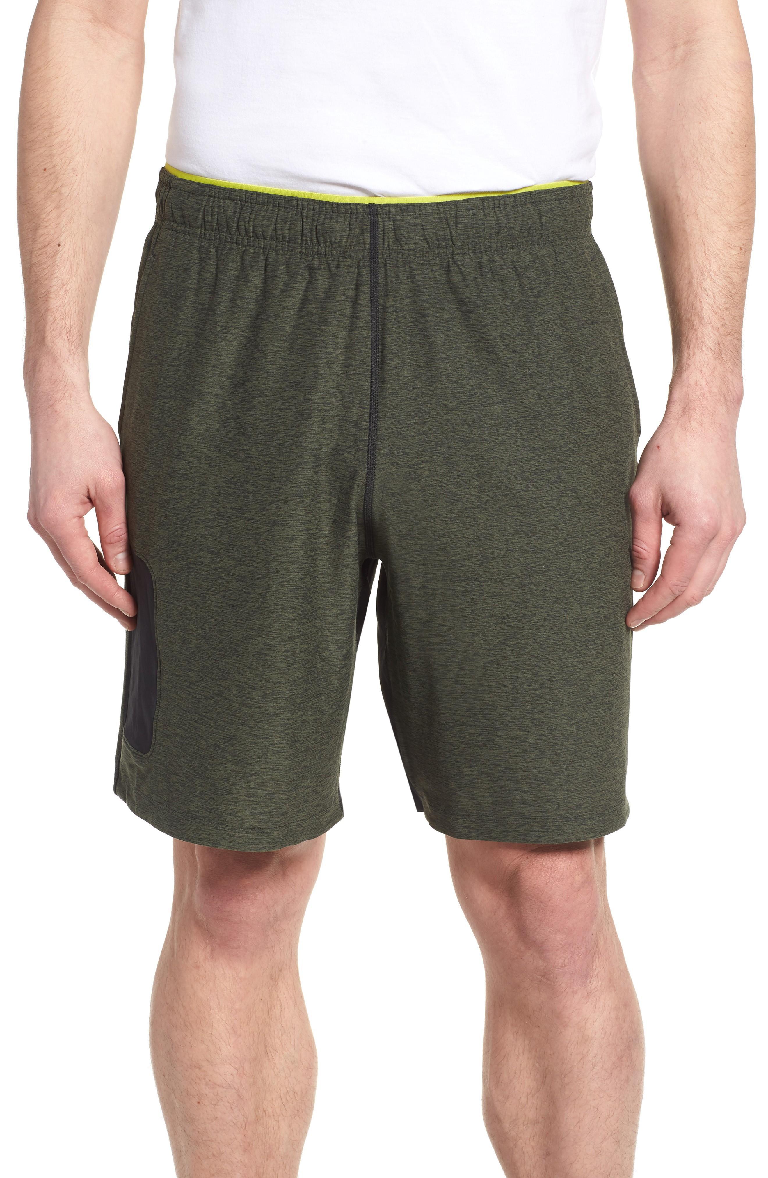 New Balance Anticipate Shorts In Dark Covert Green
