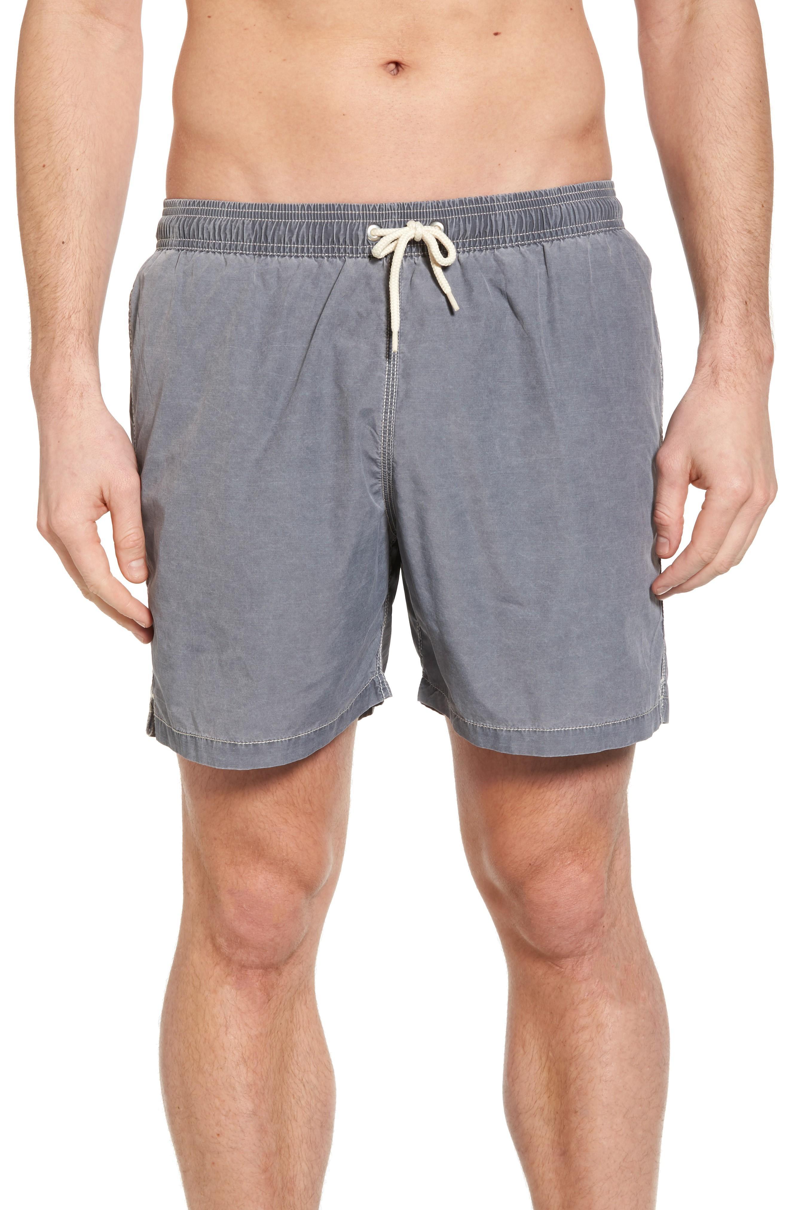 fb5deaedb9fa9 Barbour Victor Swim Trunks In Slate Grey | ModeSens