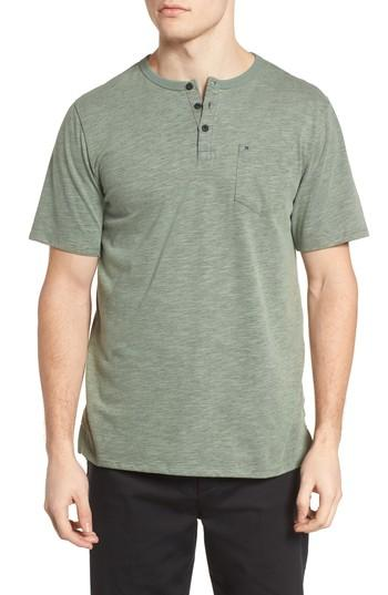 Hurley Dry Lagos Henley In Clay Green