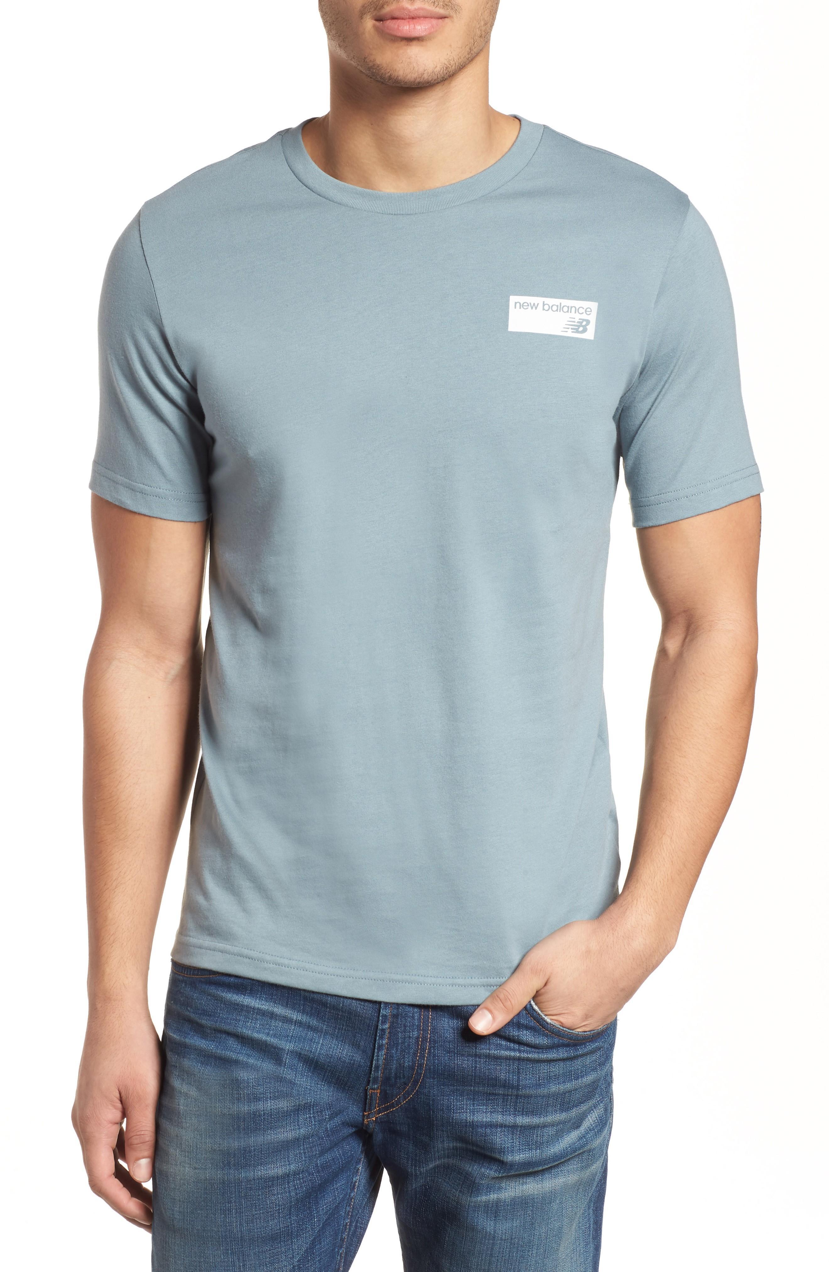 New Balance Athletics Classic Crewneck T-shirt In Slate