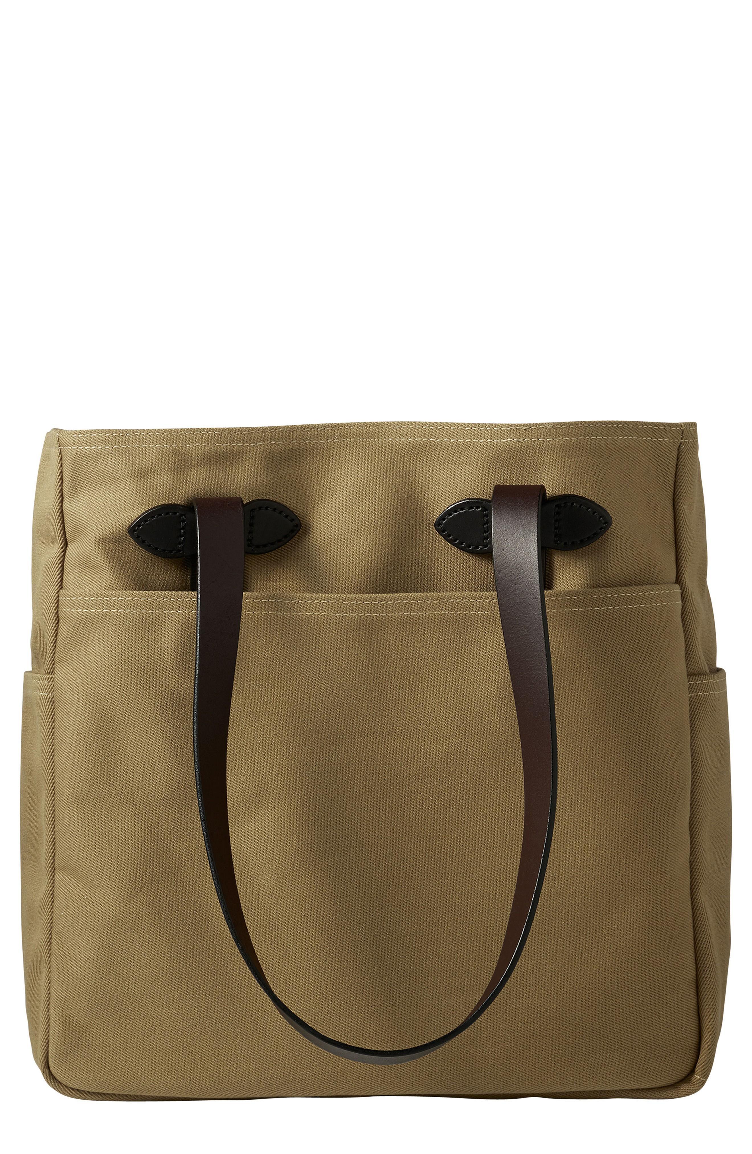 Filson Rugged Twill Tote Bag In Tan