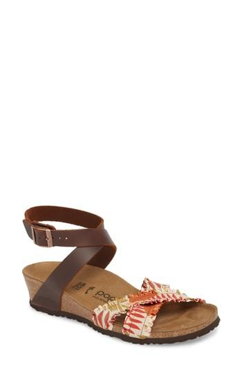 6460c6d726a4 Birkenstock Lola Wedge Sandal In Cognac Leather