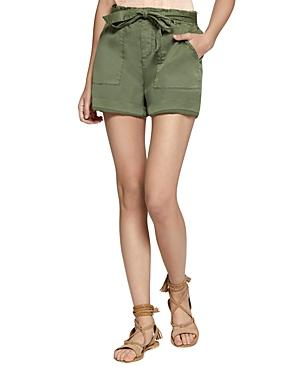 Sanctuary Daydreamer Tie-waist Shorts In Green