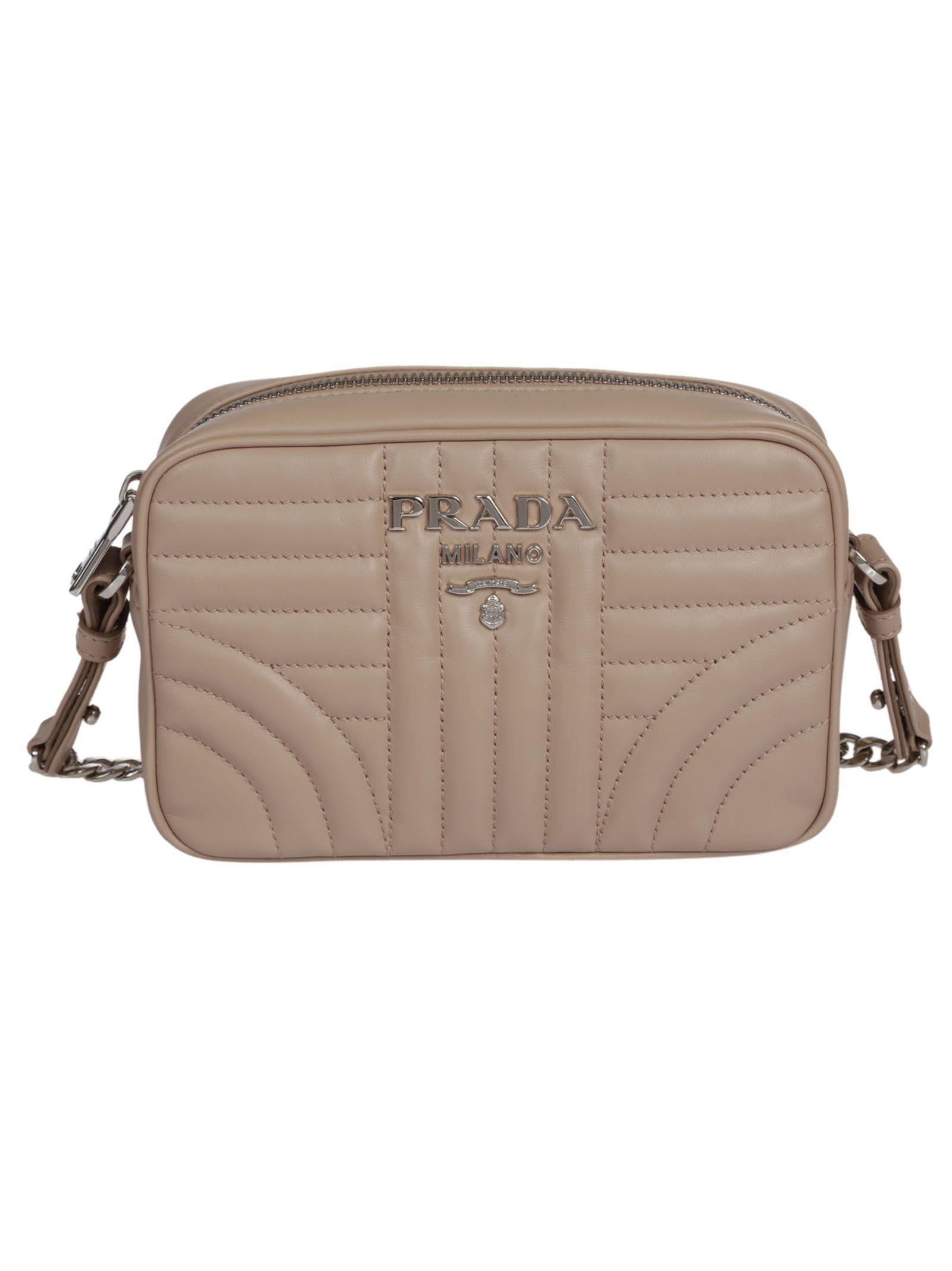 Prada Beveled Shoulder Bag
