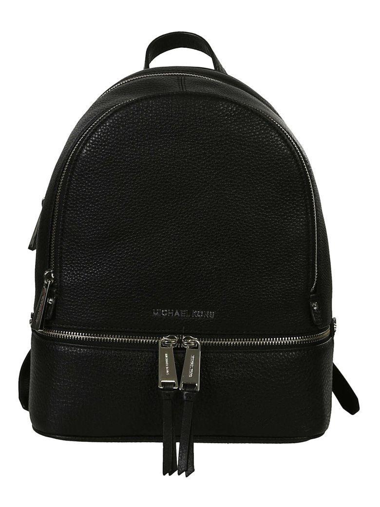 Michael Kors Rhea Backpack Bag In Black
