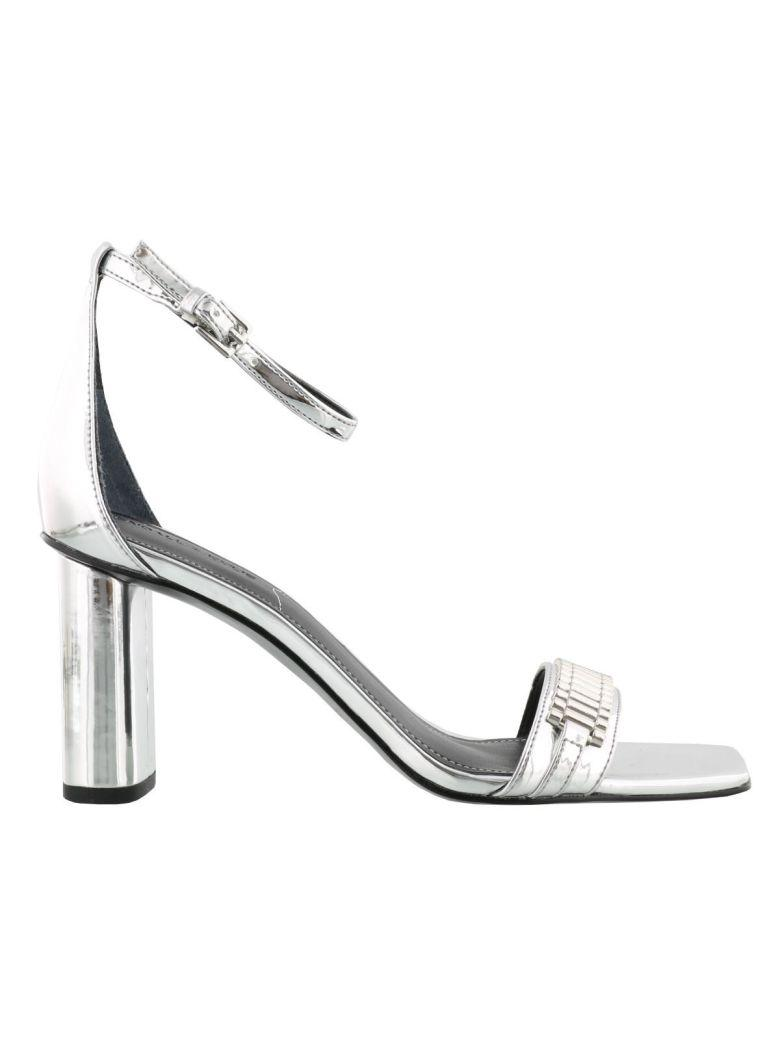 Kendall + Kylie Embellished Sandals In Silver