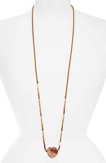 Lizzie Fortunato Gemini Necklace In Sunset