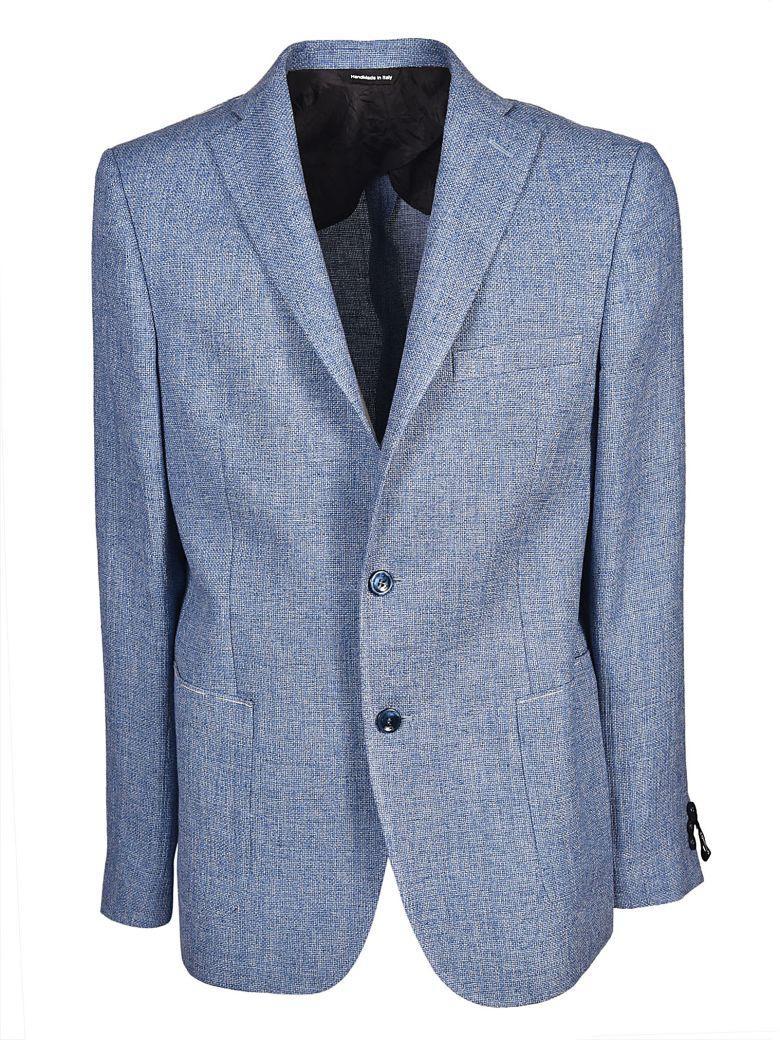 Tonello Classic Blazer In Azzurro