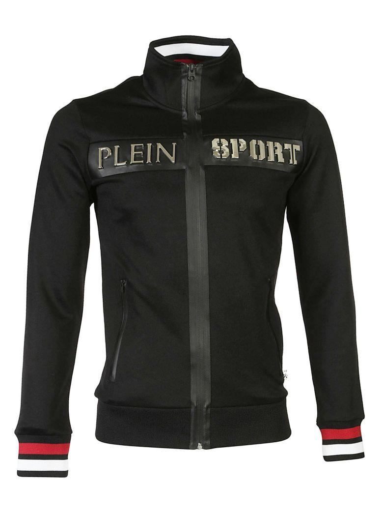 Philipp Plein Cardigan Coat In Black
