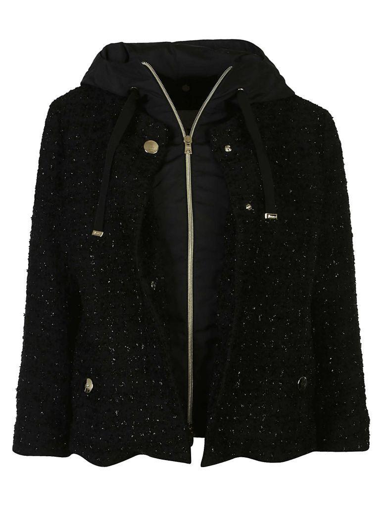 Herno Branded Jacket In Nero