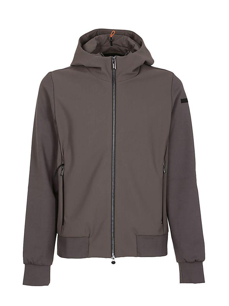 Rrd - Roberto Ricci Design Rrd Hooded Jacket In Grigio Topo