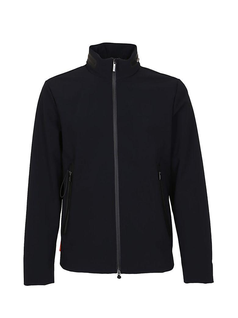 Rrd - Roberto Ricci Design Rrd Zipped Jacket In Blublack