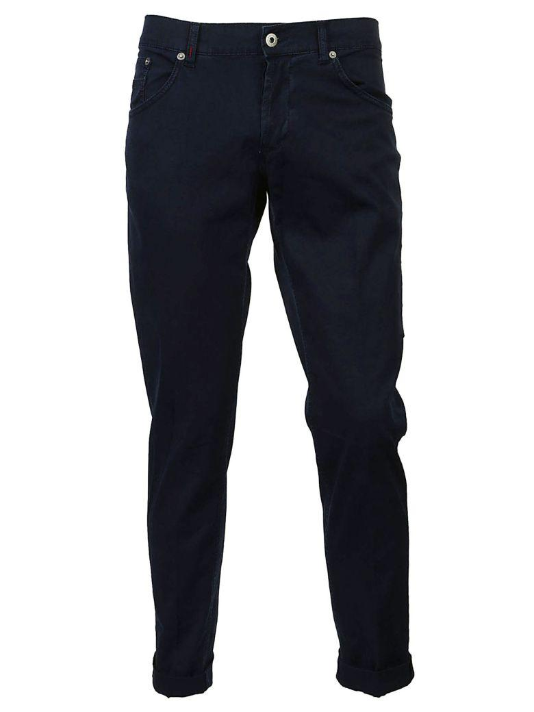 Dondup Cropped Jeans In Blu