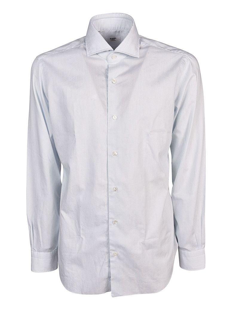 Barba Napoli Barba Classic Shirt In Bianco