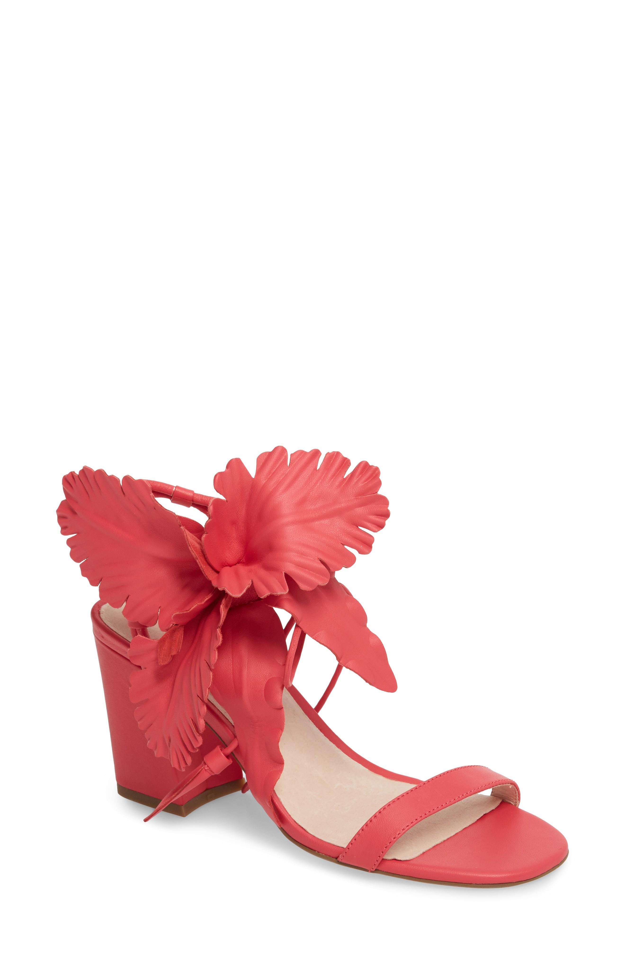 de3ad1474470 Cecelia New York Hibiscus Sandal In Fuchsia Leather