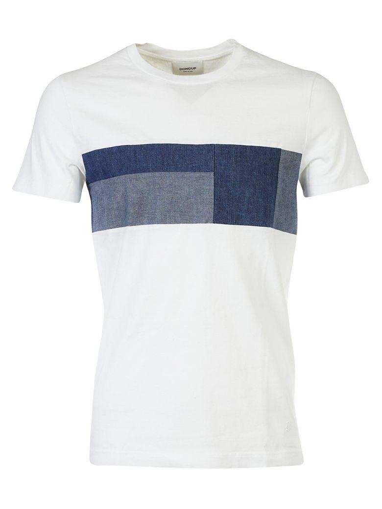 Dondup Cotton T-shirt In Bianco