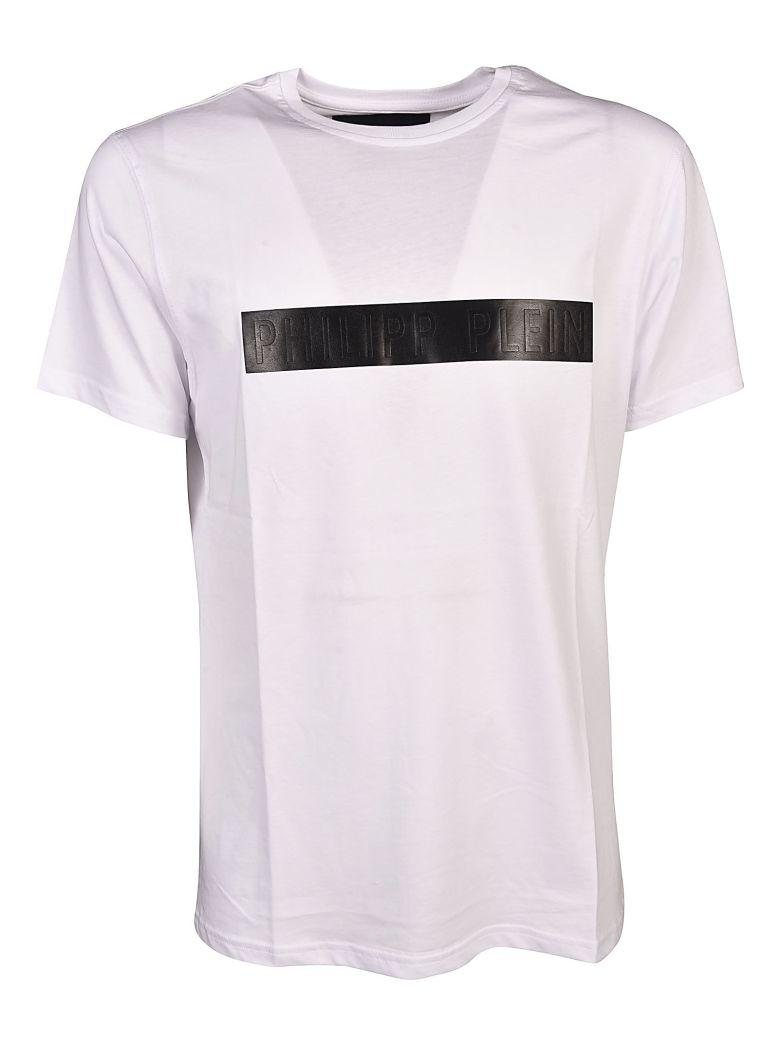 Philipp Plein Band T-shirt In Bianco