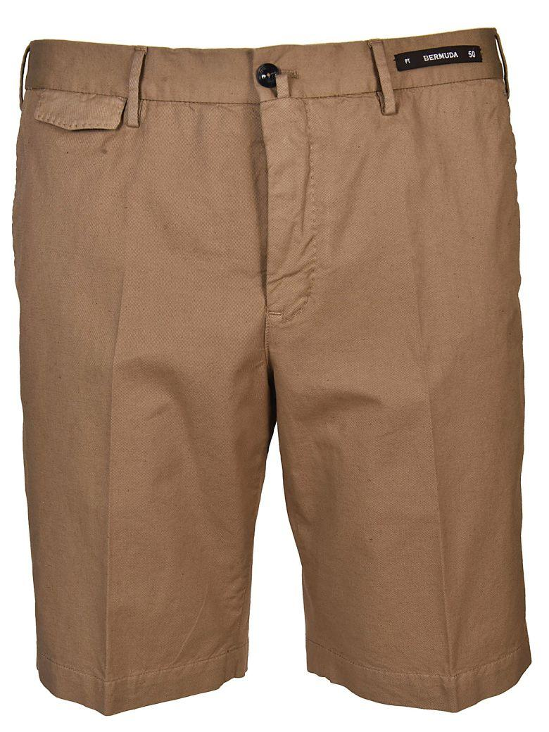 Pt01 Bermuda Shorts In Corda