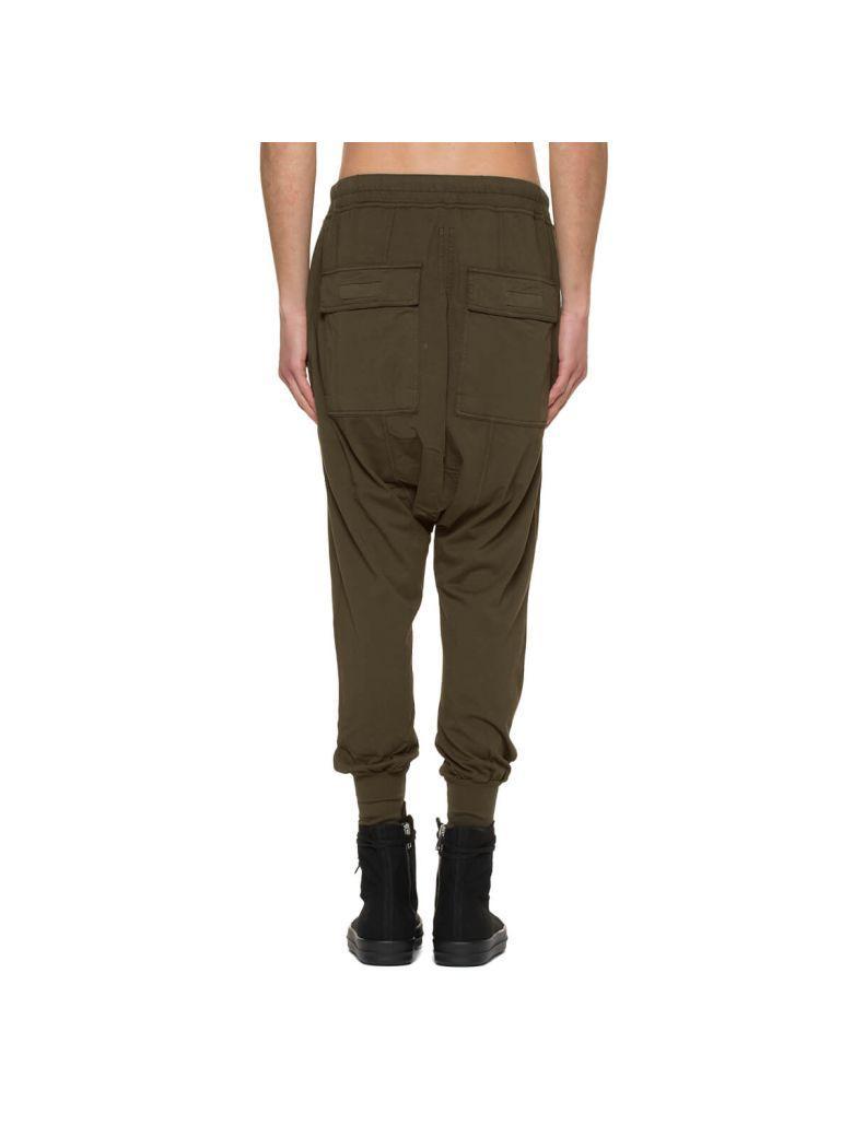 Drkshdw Prisonner Drawstring Pants In Green