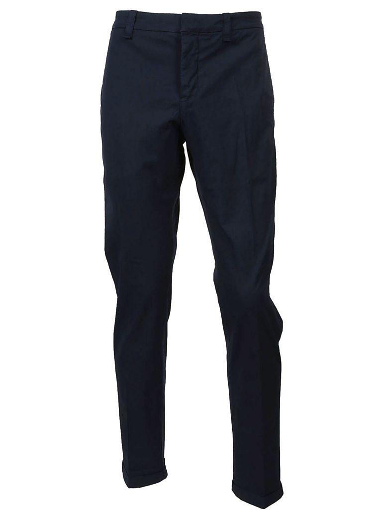 Dondup Gaucho Popeline Trousers In Blu