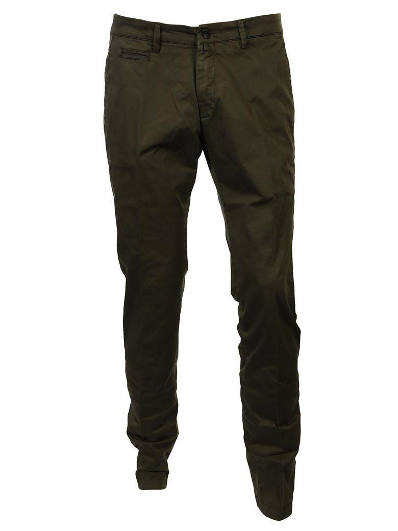 Briglia Branded Trousers In Verde