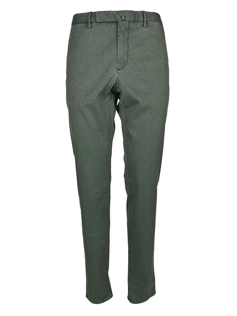 Incotex Skinny Fit Trousers In Verde