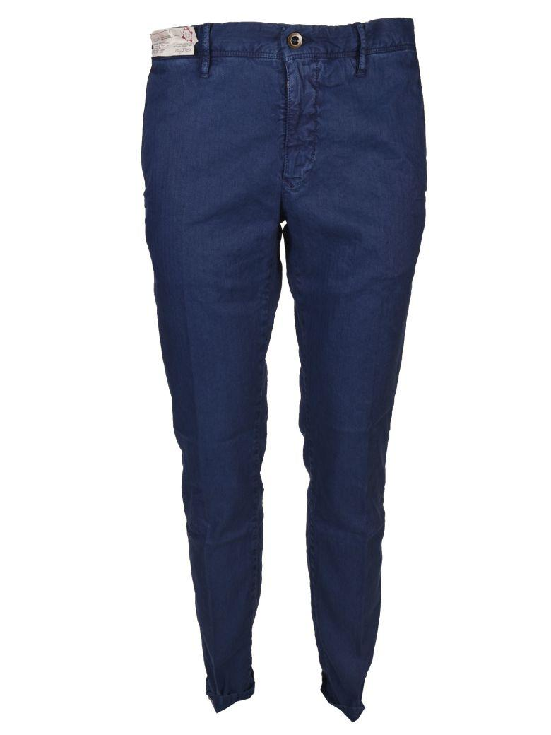 Incotex Skinny Fit Trousers In Bluette